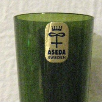 Aseda Vase Amp Label
